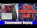 Jeskai Sunforger Game 3 - vs Muldrotha, Kumena, Kami of the Crescent Moon