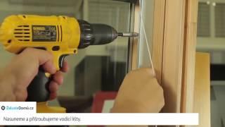 Vyměření a montáž žaluzií R-Lite