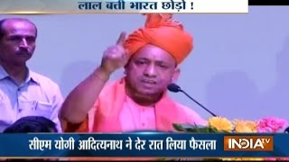 CM Yogi bans red beacons for VIPs from today in UP