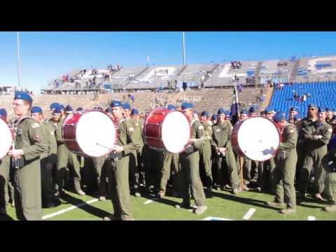 Air Force vs Army Drumline Battle 2013