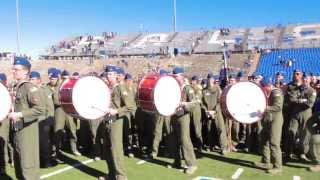 Air Force vs Army Drumline Battle 2013