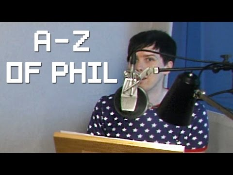 The A-Z of Phil (Behind the scenes of the TABINOF Audiobook!)