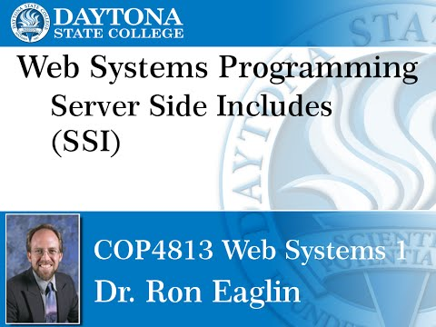 Web Programming - Server Side Include
