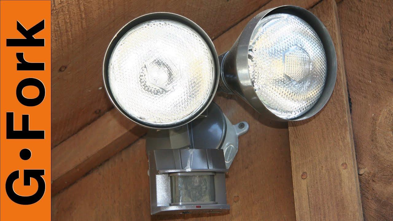 medium resolution of install a motion sensor light gardenfork