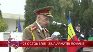25 OCTOMBRIE - ZIUA ARMATEI ROMÂNE (25.10.2016)