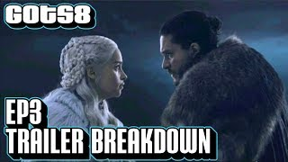 Download Game of Thrones Season 8 Episode 3 Trailer Breakdown | GoT S8E3 Official Promo Mp3 and Videos
