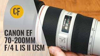 Canon EF 70-200mm f 4 L IS 39 II 39 USM lens review with samples Full-frame amp APS-C