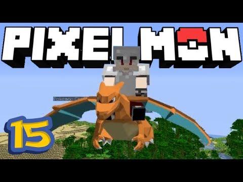 Pixelmon Minecraft 15 A Dos De Dracaufeu Youtube