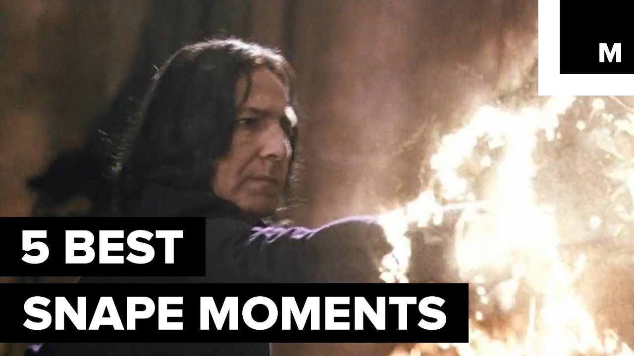 f4b34607ee7 5 Moments That Made Us Love Alan Rickman s Severus Snape. Mashable Deals