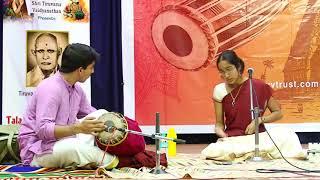 Carnatic Music Concert by Sahana Vasudevan | tutelage of tiruvarur vaidhyanathan | TTVVTrust 2017