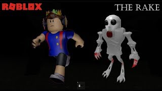 THE TA SKULL IS CHASING ME!! The Rake (ROBLOX)
