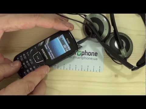 Samsung E1282 - музыкальные возможности
