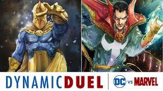 doctor fate vs doctor strange dc vs marvel