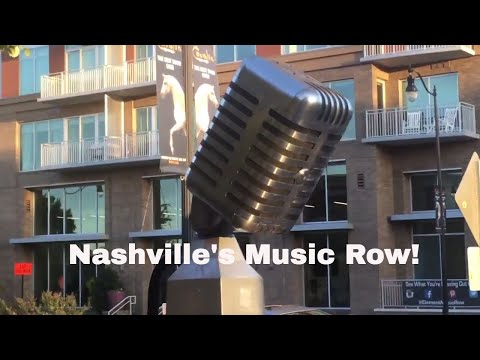 Nashville's Music Row