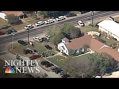 Texas Church Shooting: At Least Two Dozen Parishioners Killed | NBC Nightly News