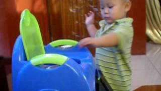 Baby Potty training 1