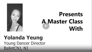 Yolanda Yeung of BalletCNJ - BEGINNER BALLET - Ballet En Demand