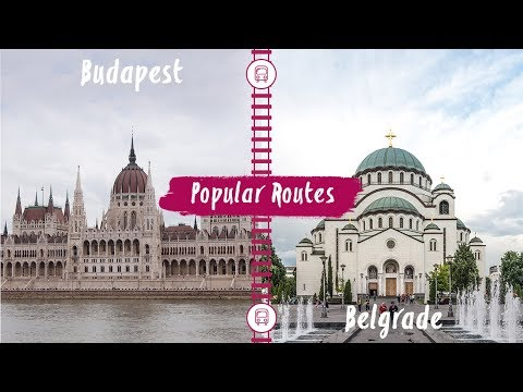 Eurail - Train Route From Budapest to Belgrade