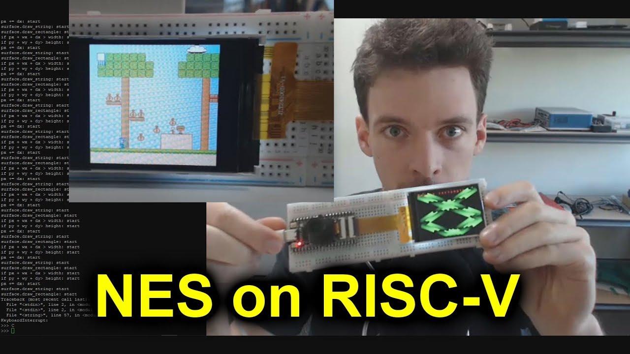 Run a MicroPython NES Emulator on RISC-V Dev Boards