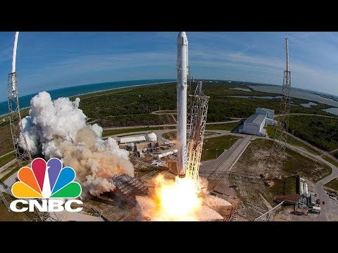 SpaceX Launches Falcon 9 Rocket From Kennedy Space Center | CNBC