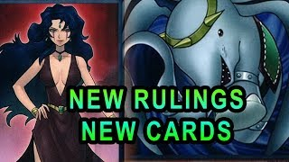 NEW RULINGS FOR NEW YUGIOH CARDS! (COLLECTORS PACK 2018, HEXE, FLYING ELEPHANT, DICE, BATTLESHIP)