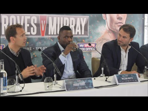 THE BODY SNATCHER RETURNS !! -DILLIAN WHYTE SIGNS FOR MATCHROOM FULL PRESS CONFERENCE W/ EDDIE HEARN