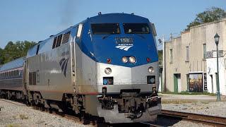 The BEST Amtrak Engineer Ever!
