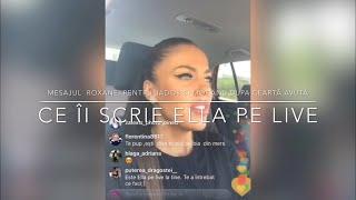 Mesajul ROXANEI pentru JADOR si MOCANU, dupa cearta avuta Ce ii scrie ELLA pe Live