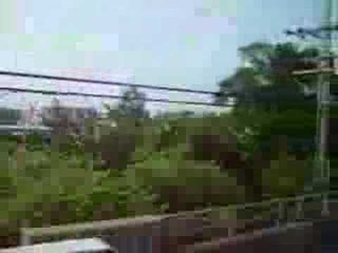 mta long island rail road kawasaki c r t r bi level pull cars passing