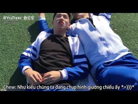 [Vietsub][BTS] Bản full chiện tình bọc nilon - Huang Jing Yu & Xu Wei Zhou =)))))))