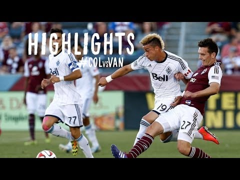 HIGHLIGHTS: Colorado Rapids vs Vancouver Whitecaps | June 28, 2014