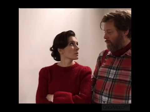 Mia Lyhne og Martin Buch om filmoptagelser i Viborg - YouTube