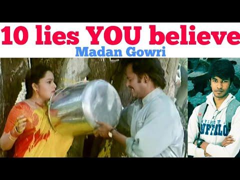 10 lies you believe | Tamil | Madan Gowri | MG
