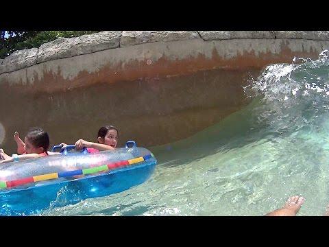 Scary Wave Ride at Atlantis