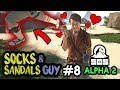 SOCKS & SANDALS GUY [#8] SOS The Game with HybridPanda