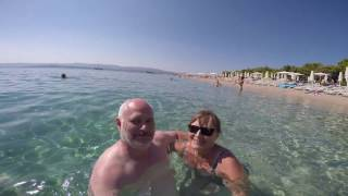 Croatia Part 1, 12 days MC BMW K 1600 GTL, GoPro