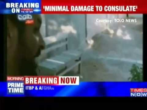 Indian consulate attack  One gunman shot dead!