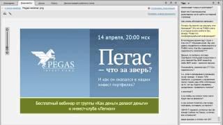 видео Инвестиционный фонд Pegas