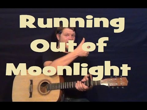 Running Out of Moonlight (Randy Houser) Guitar Lesson Easy Strum Chords How to Play Tutorial