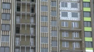 видео навесные фасады из керамогранита