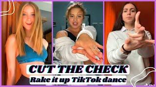 Welcome to another tiktok dance challenge video.cut the check (bust it down)|rake up challenge.rake -nicki minaj ----------------------------f...