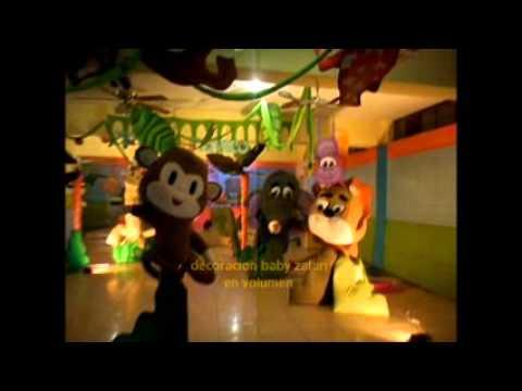 Decoracion safari fiesta infantil safari selva for Decoracion fiesta jardin