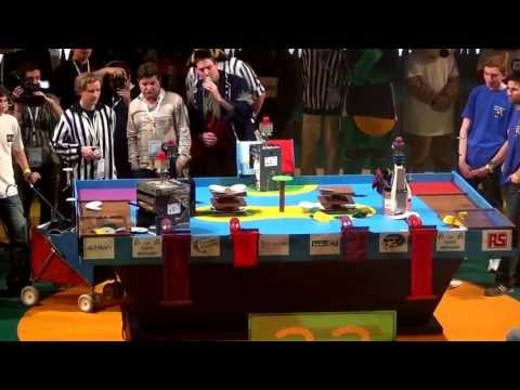 2012 Finale n°3/3 - RCVA vs Space Crackers - Coupe de France de robotique 2012