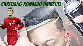 BARBER TUTORIAL: CRISTIANO RONALDO HAIRCUT HD!