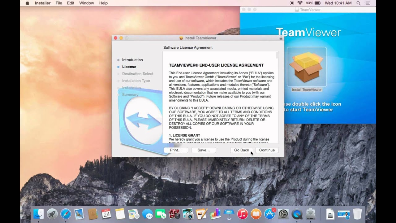 how to install team viewer for remote access on your mac book pro or mac  computer