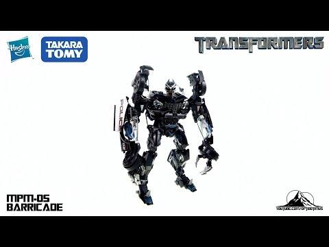 Optibotimus Reviews: Transformers Movie Masterpiece MPM-05 BARRICADE