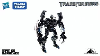 Optibotimus Reviews Transformers Movie Masterpiece MPM-05 BARRICADE