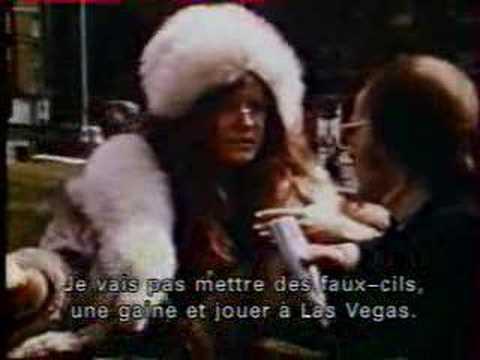Janis Joplin - Albert Hall interview
