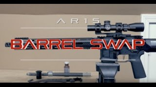 AR15 Proof Research Carbon Fiber Barrel Installation Swap