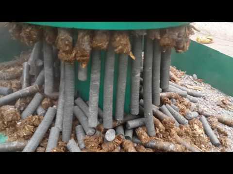 waste paper briquette making machine